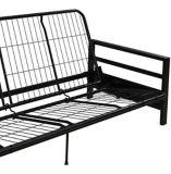 Cadre pour futon en métal Dorel Comfort, noir | Dorelnull