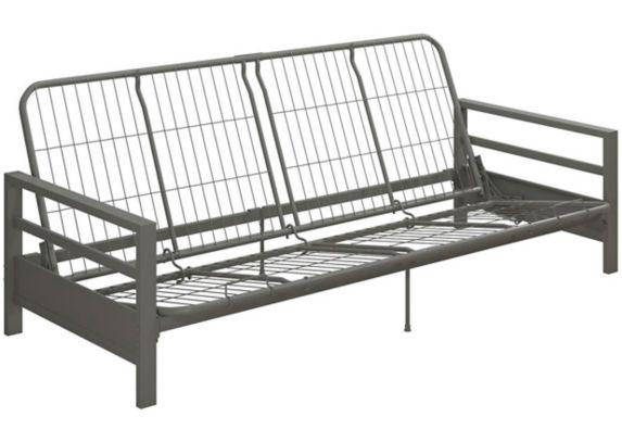 Cadre pour futon en métal Dorel Comfort, argent Image de l'article