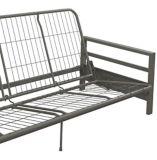 Cadre pour futon en métal Dorel Comfort, argent   Dorelnull