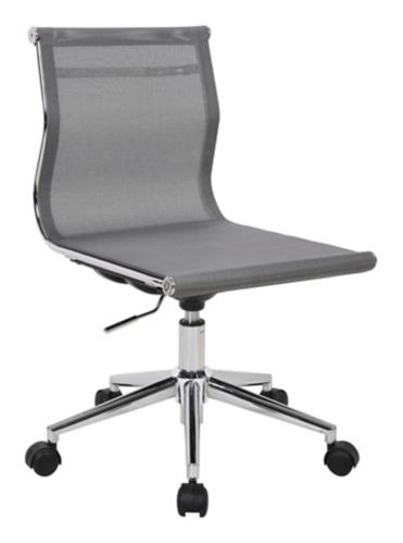 LumiSource Mirage Office Chair, Chrome/Silver Product image