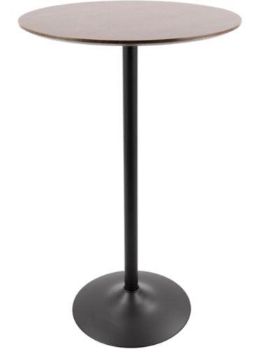 Table ajustable de barre/salle à manger LumiSource, noyer/noir Image de l'article