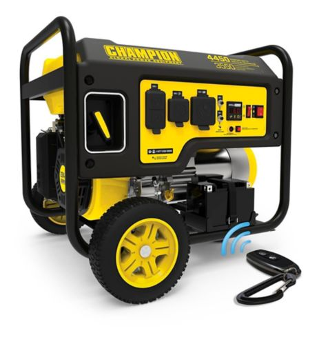 Champion 3550W Open Frame Generator with Wireless Remote Start Product image