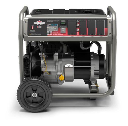 Génératrice à essence portable Briggs & Stratton de 5 000 W à technologie CO Guard Image de l'article