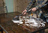 Brosse à récurer électrique pour surface dure WORX HydroShot | Worxnull
