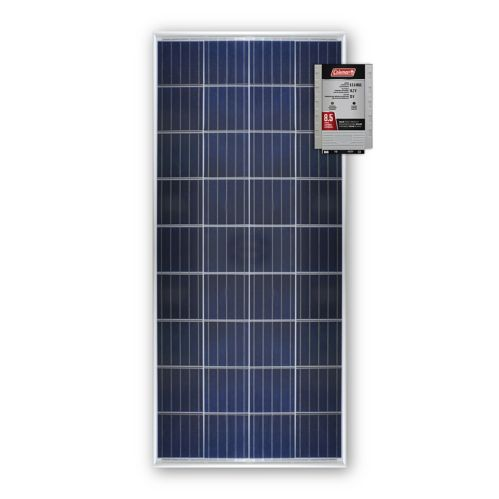 Coleman 150W Crystalline Solar Panel with 8.5A Charge Controller Product image