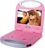 Sylvania Portable DVD Player with Integrated Handle, Pink, 10-in | Sylvanianull