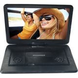 Lecteur DVD portatif Sylvania avec écran TFT pivotant, 15,6 po | Sylvanianull