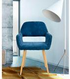 39F Cromwell Upholstered Dining Chair, Dark Blue | Via Velonull