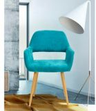 39F Cromwell Upholstered Dining Chair, Green | Vibenull