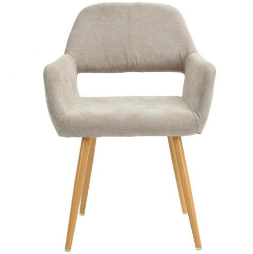 39F Cromwell Upholstered Dining Chair Set, Beige, 2-pc Product image