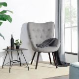 39F Kas Accent Chair, Grey | Viennanull