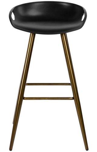 39F Fiyan Bar Stool, Black/Bronze Product image