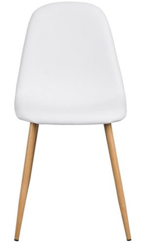 39F Charlton PU Dining Chair, White Product image