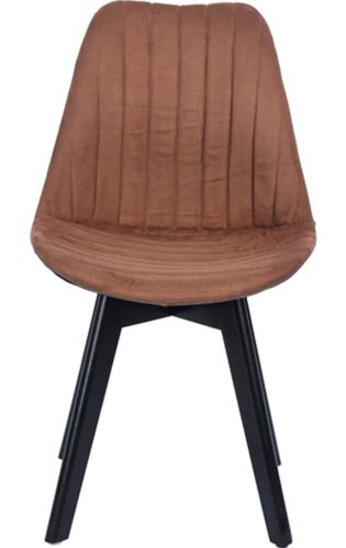 39F Frankfurt Suede Dining Chair Set, 4-pc Product image