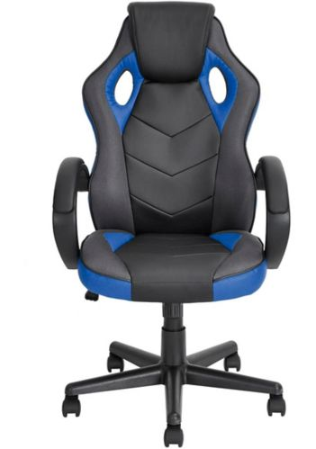 39F Linton High Back Gaming Chair, Blue/Black Product image