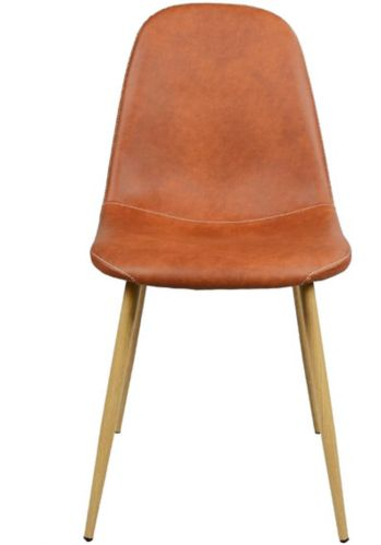 39F Charlton Vintage Dining Chair, Light Brown Product image