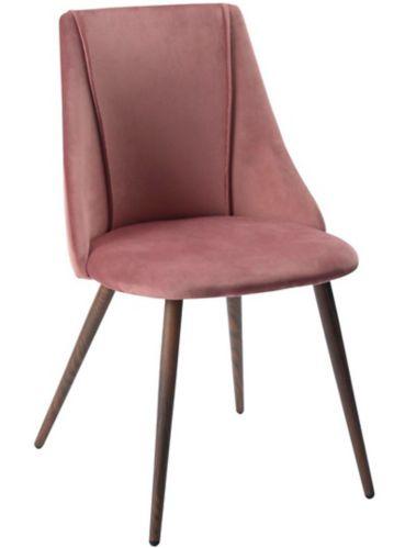 Chaise de salle à manger rembourrée 39F, rose Image de l'article