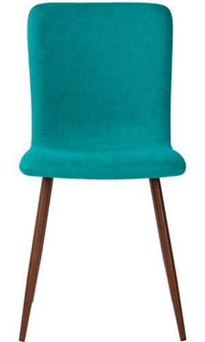 Chaise de salle à manger rembourrée 39F Scargill, vert Image de l'article