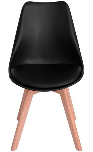 39F Frankfurt Dining Chair, Black Product image