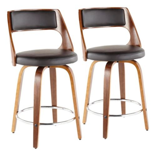 LumiSource Cecina Counter Stool Set, 2-pc Product image