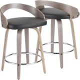 LumiSource Grotto Counter Stool | LumiSourcenull