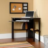 Sauder Beginnings Corner Computer Desk,  Cinnamon Cherry | Saudernull