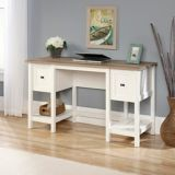 Sauder Cottage Road Desk, Soft White | Saudernull