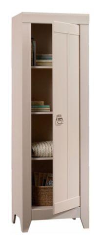 Sauder Adept Storage Collection Narrow Storage Cabinet, Grey Cobblestone Product image