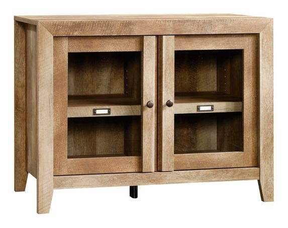 Sauder Adept Storage Collection Credenza, Craftsman Oak Product image