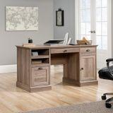 Sauder Barrister Lane Executive Desk, Salt Oak | Saudernull