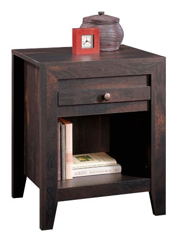 Sauder Dakota Pass Night Stand, Char Pine Product image