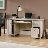 Sauder Edge Water Computer Desk, Chalked Chestnut | Saudernull