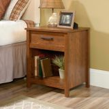 Sauder Cannery Bridge Night Stand, Milled Cherry | Saudernull
