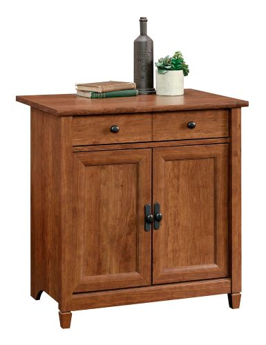 Sauder Edge Water Utility Cart/Stand, Auburn Cherry Product image