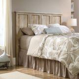 Tête de lit pour lit à 2 places/grand lit Sauder Cannery Bridge, chêne linteau | Saudernull