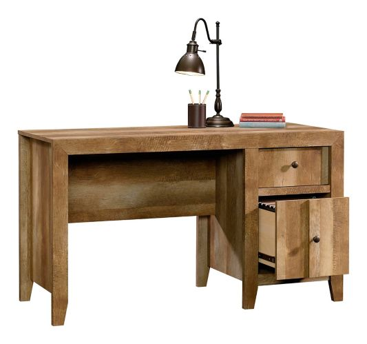 Sauder Dakota Pass Desk, Craftsman Oak Product image