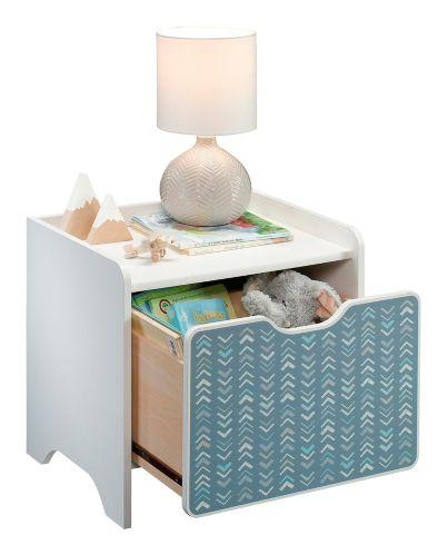 Sauder Pinwheel Night Stand, Soft White Product image