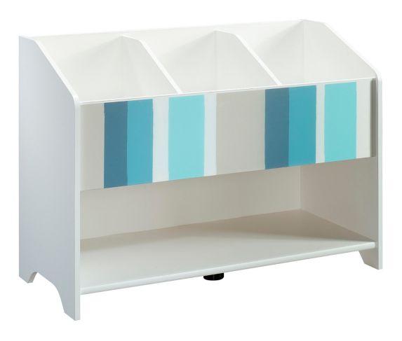 Sauder Pinwheel Bookcase, Soft White Product image