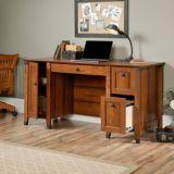 Sauder Carson Forge Computer Desk, Washington Cherry | Saudernull