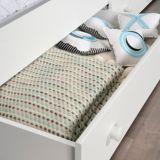 Sauder Pinwheel Twin Mates Bed, Soft White | Saudernull
