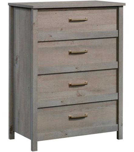 Sauder Cannery Bridge 4-Drawer Chest, Mystic Oak Product image