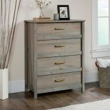 Sauder Cannery Bridge 4-Drawer Chest, Mystic Oak | Saudernull