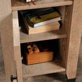 Table d'appoint Sauder Carson Forge, linteau de chêne | Saudernull