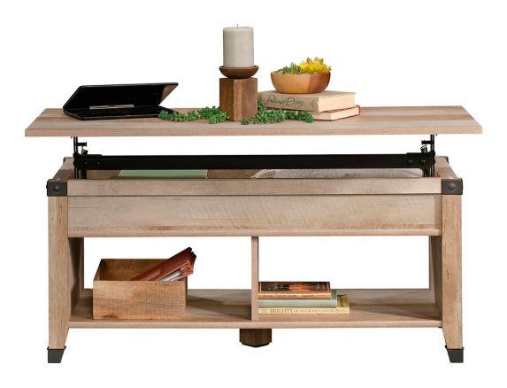 Sauder Carson Forge Lift Top Coffee Table, Lintel Oak Product image