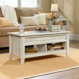 Sauder Dakota Pass Lift Top Coffee Table, White Plank   Saudernull