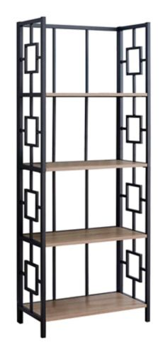Monarch Bookcase, Taupe, 62-in Product image