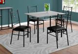 Monarch Dining Table Set, 5-pc | Monarchnull