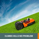 WORX Landroid-L Cordless Robotic Lawn Mower, 9-in | Worxnull