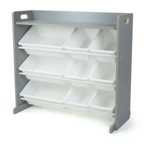 Humble Crew Toy Storage Organizer with Shelf & 9 Storage Bins Product image