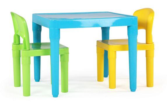 Table et chaise en plastique pour enfant Humble Crew Image de l'article